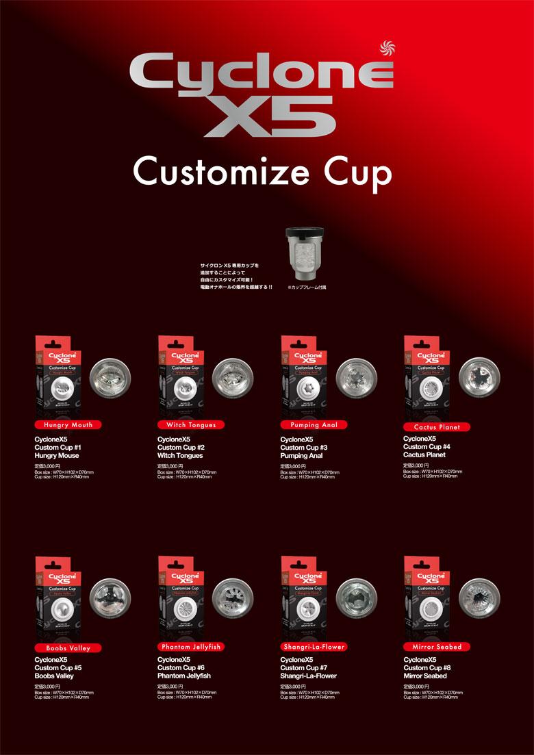 Cyclone X5カップ
